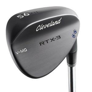 Cleveland Golf pour homme Rtx-3VMG (Mid Bounce) Wedge, Noir satiné