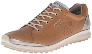 ECCO Men's Golf BIOM Hybrid 2, Chaussures Homme, Marron (59399CAMEL/OYESTER), 45 EU