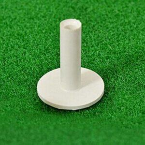 Jullyelegant Match de Sports de Plein airGolfé de Terrain de Golf pour Terrain de Golf Tee Ball Nail – Couleur métal