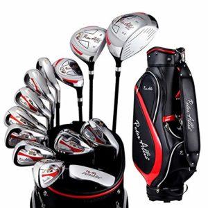 Putters de Golf 13 PCS pour hommes semi-établi pour exercices de bâtons Ensemble de bâtons de golf pour débutants au golf Intérieur et extérieur ( Couleur : One color , Taille : Taille unique )