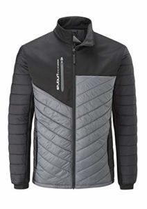 Stuburt SBJKT1091 Evolve Extreme Veste de Golf rembourrée Thermique et Respirante pour Homme Noir/Graphite Taille XL