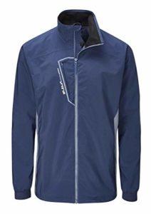 Stuburt SBJKT1115 Evolve Extreme Veste de Golf Thermique imperméable et Respirante pour Homme Bleu Nuit Taille XXL