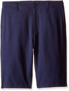 Under Armour Boys' Medal Play Golf Shorts, Midnight Navy/Graphite, Youth Medium