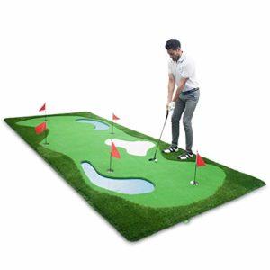 WZDSNDQDY Golf Mini Green Putting Practice, stylisme de l'eau à l'intérieur et à l'extérieur,