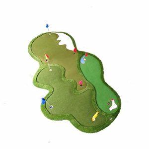 WZDSNDQDY Les Greens intérieurs et extérieurs, la Pratique du Putting, Le Golf du Bureau de Loisirs dans la Cour, l'affichage des événements du Salon Automobile, 300 * 600CM