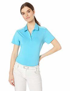 adidas Golf, Femme, Polo, Ultimate Short Sleeve Polo, Bright Cyan, XX-Large