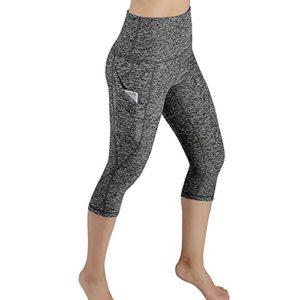 ALISIAM Legging De Sport Femme Taille Haute avec Poche Fitness Yoga Running Gym Stretch Longue Minceur L'été Pantalon Slim Femme Legging Femme Sexy Jogging Femme Noir Collant Femme Grande Taille