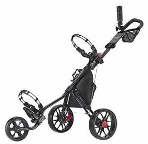 Caddytek CaddyLite 11.5 V3 Deluxe Golf Push Chariot (Black)