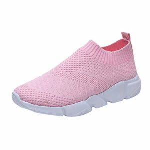 CIELLTE Chaussures Baskets Femme Chaussettes Casual Hiver Sneakers Bottes de Neige Entraînement Trail Multicolore Running