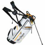MACGREGOR 2019 Mactec Sac de Golf étanche avec trépied 23 cm, Homme, MACBAG130, Blanc, Taille Unique