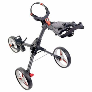 Motocaddy 2019 Cube Push Chariot de Golf, Red, Taille Unique