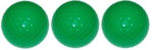 Qualité Vert néon mini balle de Golf à 3 boules