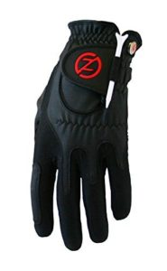 2014 Zero Friction Compression-Fit Performance Mens Golf Gloves Left Hand (For the Right Handed Golfer) Black by Zero Friction