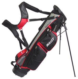 Cruiser Golf XXX320104 Bullet Sac trépied ultraléger Rouge/Noir/Gris 16,5 cm