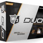Grips4less Wilson Staff Duo Pro Balle de Golf, Orange, 4 Dozen