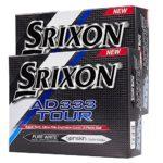 «neuf 5123,2cm Srixon AD333Tour Blanc Balles de golf Douzaine double 24Boule Discount Lot