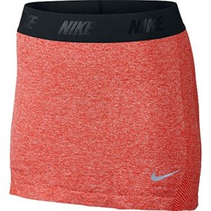 Nike Golf Dri-Fit Knit Skort Jupe pour Femme XL Rojo/Negro/Plata