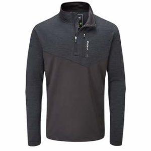 Stuburt SBTOP1118 Evolve Extreme Veste de Golf Thermique Semi-zippée pour Homme Gris Taille L