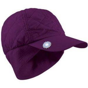 Surprizeshop Femme 9522575666500. réglable et matelassé pour Femme Hiver Casquette de Golf, Violet