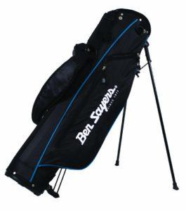 Ben Sayers 15,2cm Support Sac de Crayon, Homme, 6» Stand Bag, Noir/Bleu, 6-inch
