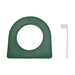 LNIMIKIY Putter d'entraînement pour Golf intérieur/extérieur Vert