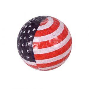 BESPORTBLE Pratique des Balles de Golf Modèle de Drapeau Américain pour Practice Practice Swing Usage Domestique (Drapeau Américain)