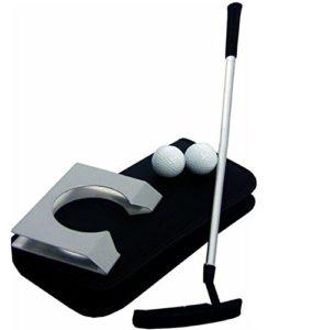 BW intérieur de Golf Set–Set de putter de golf Executive intérieur complet avec balle hole-cup. Entraînement à la maison, dans votre bureau ou Divertir vos invités dans une nouvelle façon