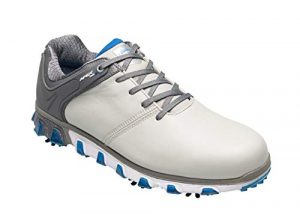 Callaway Apex Pro S Waterproof, Chaussures de Golf Homme, Gris (Grey Grey), 43 EU