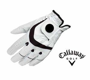 Callaway Gant de Golf pour Homme avec marqueur de Balle Syntech pour Main Gauche Taille M