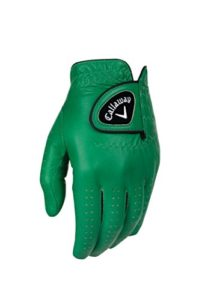Callaway Golf 2017pour Homme Opticolor Gants en Cuir, Homme, Gloves, Green
