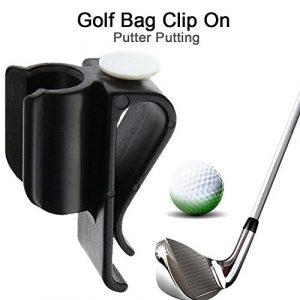 Clip de Sac de Golf sur Le Support de Putter Clip de Putter de Golf, Putting Organizer Club Durable Ball Marker Clamp Holder