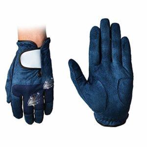 DAG-Outdoor Supplies Equipement de Pratique de Golf Fonctionnel Gants de Golf pour Hommes, Main Gauche Gants de Golf Simples Anti-dérapants, Pratiques et Respirants (Couleur : Left Hand, Taille : 26)