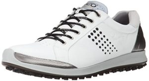 ECCO Men's Golf BIOM Hybrid 2, Chaussures Homme, Blanc (51227WHITE/BLACK), 46 EU