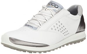 ECCO Women's Golf BIOM Hybrid 2, Chaussures Femme, Blanc, 4 EU