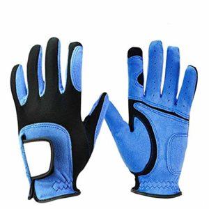 Gloves FANGQIAO SHOP Gants de Golf antidérapants et Respirants en Microfibre Lycra pour Le Sport
