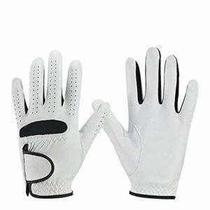 Gloves FANGQIAO SHOP Gants de Golf en Cuir Respirant antidérapant