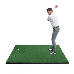 Hh001 Tapis de Golf Tapis de Golf Tapis de Golf Tapis de Golf Swing Trainer Trainer (Color : Green, Size : 150CM*150CM*0.3CM)