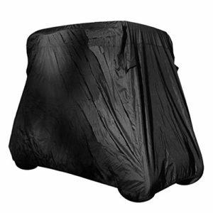 Injoyo Couverture De Protection UV De Protection Universelle Universelle pour La Voiture De Club – S Noir, comme décrit