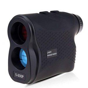 JINCH Télémètre Golf Télémètre de Chasse 600 Mètre,Laser Range Finder IP54 Zoom Optique 6X,Multimode Mesure de Distance en continu,Mode de Verrouillage Cible,Mesure de Vitesse,Réglage Dioptrique