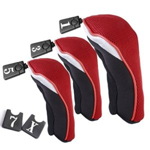 Kimberleystore durable N ° 135Woods couvertures de tête de club de golf