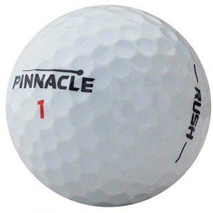 lbc-sports Lot de 100 balles de Golf Pinnacle Rush AAAA Blanc AAA