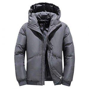 LYBH sous-vêtements pour Hommes avec sous-vêtements à Capuche et Manteau épais de Loisir adapté à l'hiver et à la Vie Quotidienne