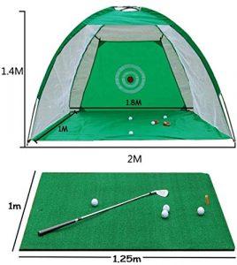 LYZ Pratique Net Green Golf Chipping Filets D'entraînement Intérieur Et Extérieur Aides for Backyard Golf À La Maison De Formation Easy Set Assemblez (Taille : 3m*2m)