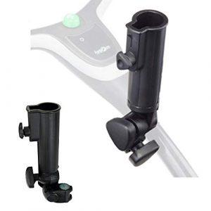Muttiy Support de Parapluie Universel réglable pour Chariot de Golf, Accessoire de Chariot de Golf.