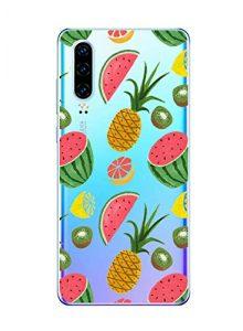 Oihxse Clair Case pour Huawei Honor 8A Coque Ultra Mince Transparent Souple TPU Gel Silicone Protecteur Housse Mignon Motif Dessin Anti-Choc Étui Bumper Cover (A4)