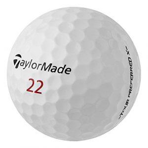 Pearlgolf 25balles de golf Taylor Made Tour Preferred X–Un Grade/AAA–Balles