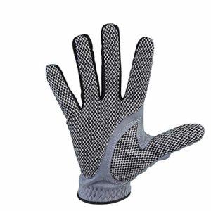 Pratique Hommes Gauche Main Droite Mince Respirant Gants De Golf Antidérapant Gants De Golf avec Lycra Stretch Tissu Gants De Golf (Couleur : Right Hand, Taille : 22)