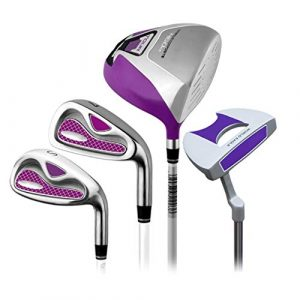 Putter de golf 4 pièces Ensemble de golf Rod Ladies Golf Club Half Set Golf Putter Rose droit à main occasion Golf Putter for femmes Golf Putter de ( Color : One color , Size : S2 )