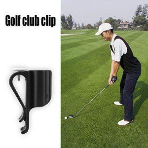 RiToEasysports Clip de Sac de Golf sur Support de Pince de Putter Organisateur Accessoires de marqueur de Balle de Club 5pcs