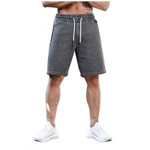 RoMantic Short Homme Sport Bermuda de Bain Swim Fitness à séchage Rapide Slim Pantalon de Court Maillot de Bain d'entraînement